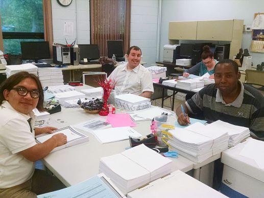 FSI employees working